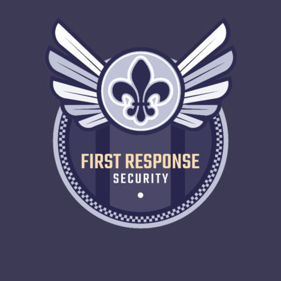 First Response Security Company Logo Generator 1786c