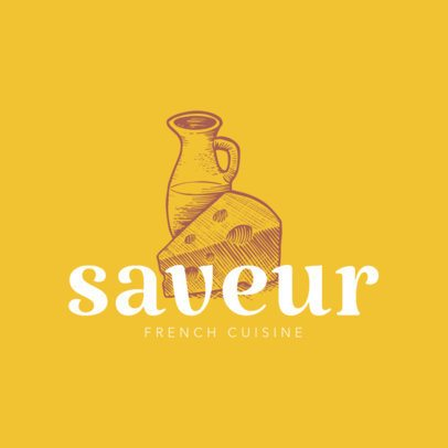 Logo Template for French Cuisine 1219d