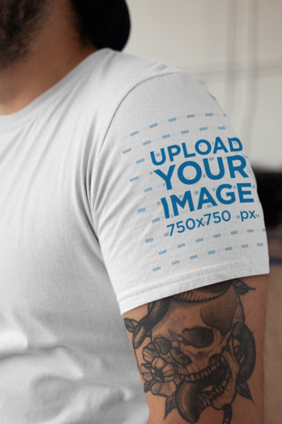 e60013c6 T-Shirt Mockup Generator - Promote Your T-Shirt Business | Placeit