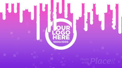 Logo Reveal Video Maker With Glitching Effect 1593