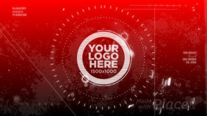 Intro Maker for a Logo Reveal with Gaming Theme 1429