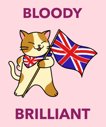 British T-Shirt Design Maker with a Hilarious Kitten Illustration 1406b