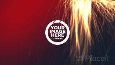 Intro Maker for a Logo Reveal with Electric Particles Animation 1635