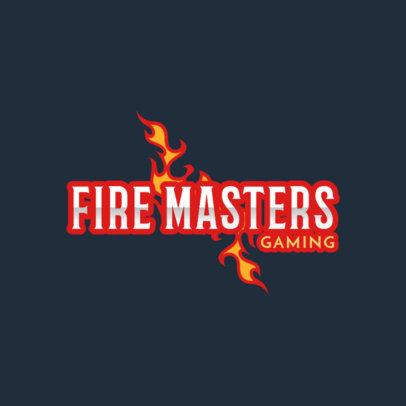 Gaming Logo Maker for an Intense Video Game Team 1873b