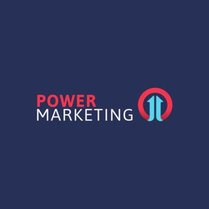 Digital Marketing Logo Generator with Simple Design 2232e