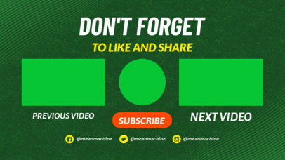 YouTube End Card Creator with a Texturized Background 1439d