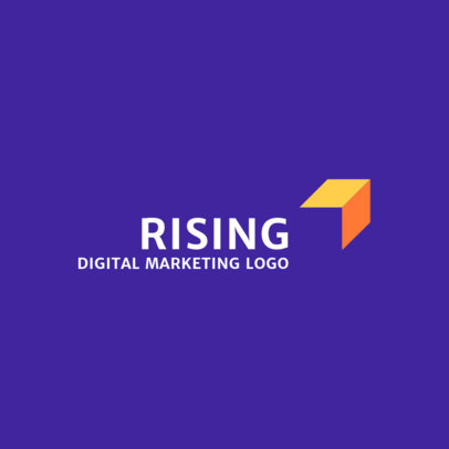 Online Logo Maker with Solid Background 2230a