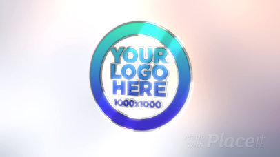 Intro Maker for a Logo Reveal with a 3D Effect 1628