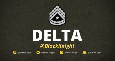 Twitch Banner Maker with Military Badges 1456