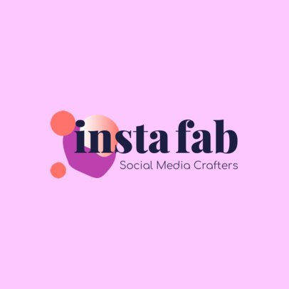 Cool Logo Creator for Social Media 2231c
