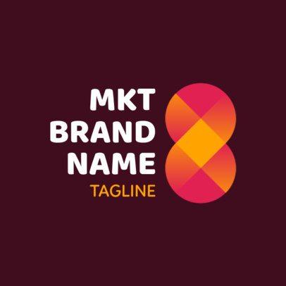 Simple Digital Marketing Logo Design Template 2228d