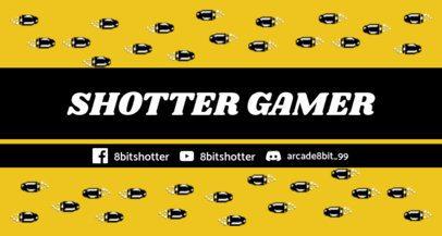 Twitch Banner Maker Featuring 8-bit Bullets 1447e