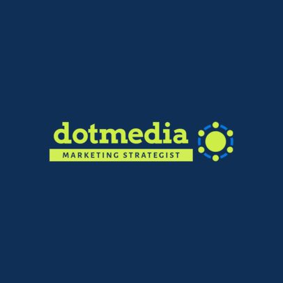 Fresh Logo Maker for a Marketing Strategists Agency 2229d