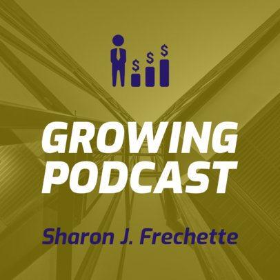 Self-Development Podcast Cover Creator 1492c