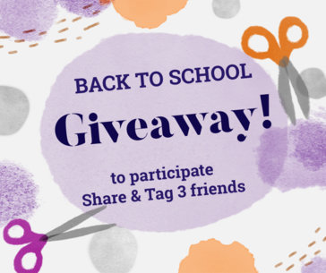 Back To School Giveaway Post Maker for Facebook 637g
