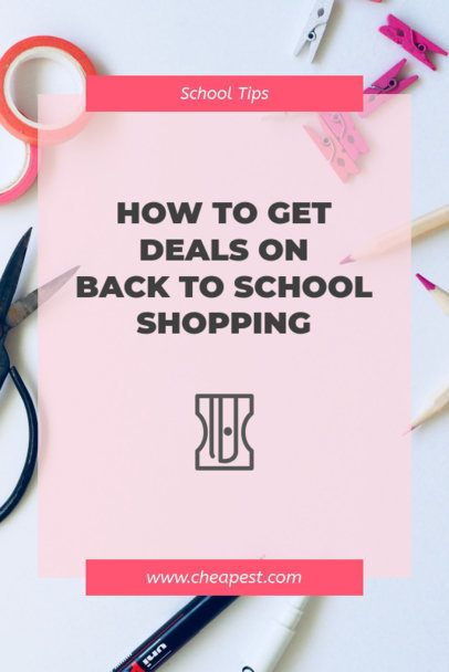 Back-To-School Shopping Deals Pinterest Pin Maker 659g