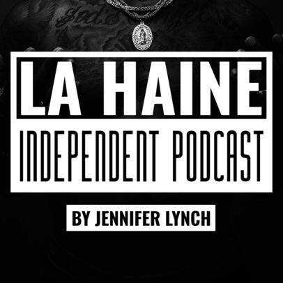 Podcast Cover Template for an Independent Show 1488a
