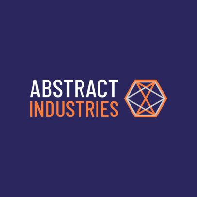 Abstract Logo Maker for an Industrial Company 1518j