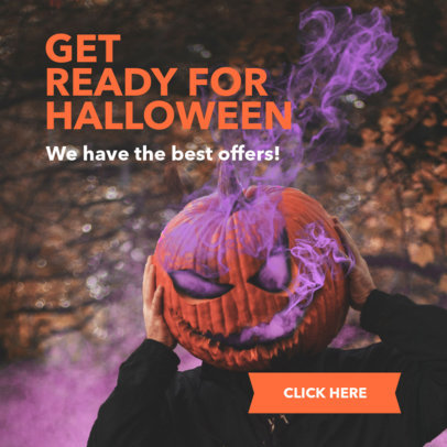 Spooky Online Banner Maker for Halloween Special Offers 16611f