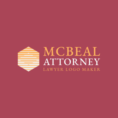 Abstract Online Logo Generator for Lawyers 1194f