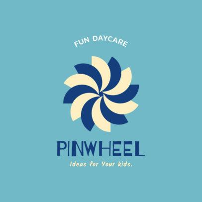 Minimal Daycare Logo Maker 1928f