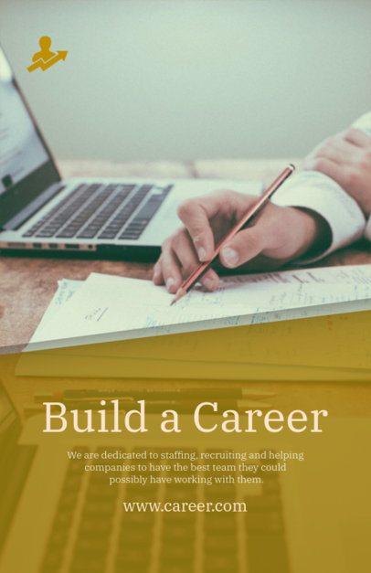Minimal Job Recruiting Flyer Design Maker for HR Companies 516c