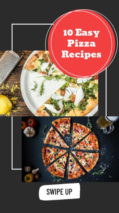 Instagram Story Maker for Pizza Recipes 858c