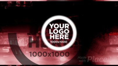 Intro Video Maker for a Logo Reveal with Cars Theme 1735