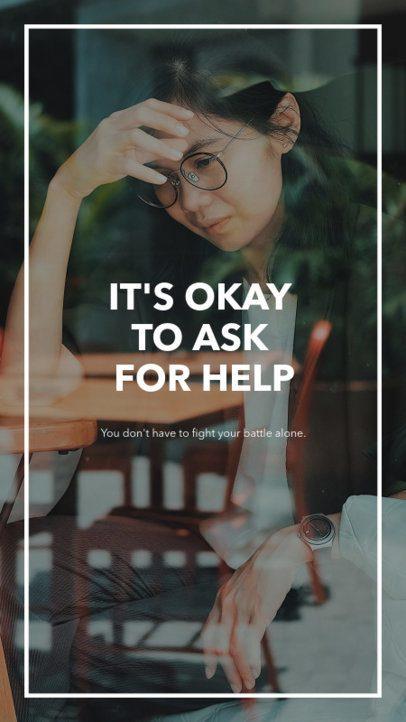 Mental Health-Themed Instagram Story Maker 597k