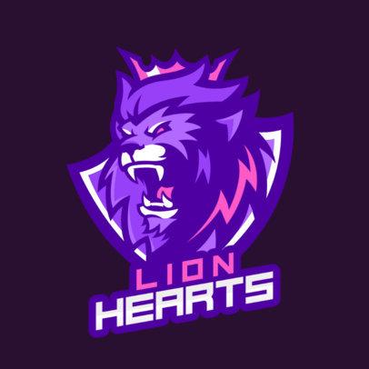 Logo Template of a Fierce Lion 1747s-2332