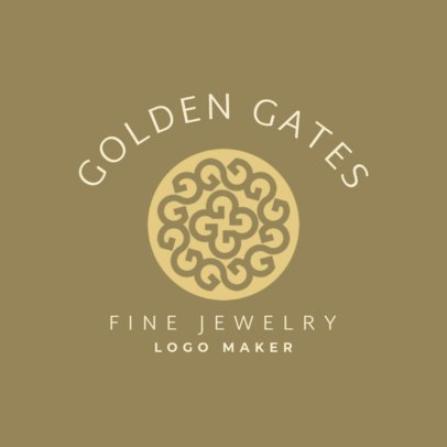 Abstract Logo Generator for Fine Jewelry Stores 2189g