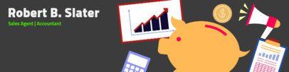 LinkedIn Banner Design Maker for a Business Profile 1593d