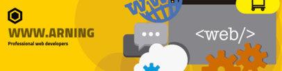 LinkedIn Banner Maker for Web Developers 1593e