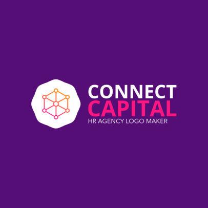 Creative HR Agency Logo Maker 1449f-2334