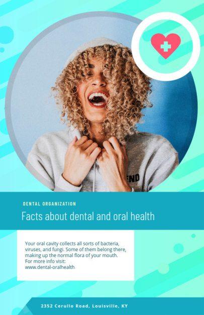 Health Awareness Online Flyer Maker for Dental Health Month 412f-1605