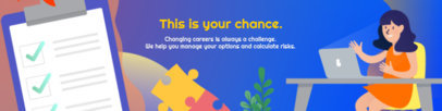 LinkedIn Banner Template for Young Professionals 1591h