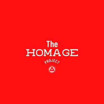 Minimal Online Logo Maker for a Vintage Clothing Brand 2355