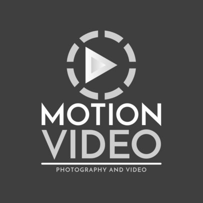 Photo And Video Producing Logo Maker 1439f-2368