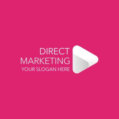 Marketing Logo Maker with a Minimalistic Icon 2228f-2368