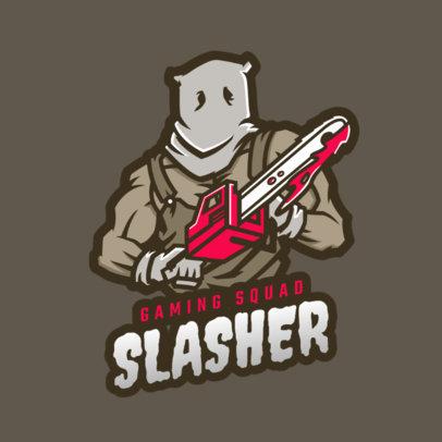 Logo Maker Featuring a Masked Assassin 1847l-2363