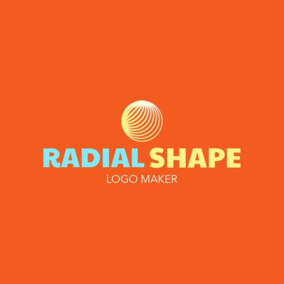 Logo Maker with a Radial Circle Icon 1519h-2343