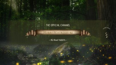 YouTube Banner Maker for RTS Gaming Channels with a Forest Background 1703c
