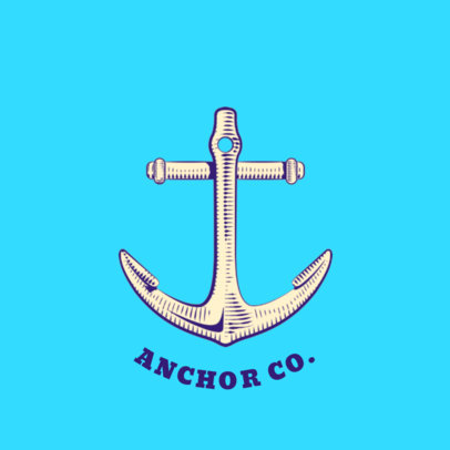 Anchor PopSocket Template 689b