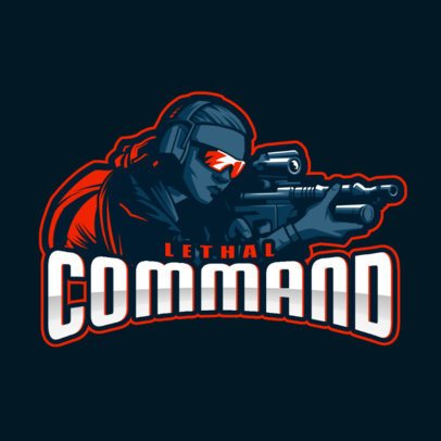 Gaming Logo Maker with a Dynamic Illustration Inspired by Counter-Strike 2449cc