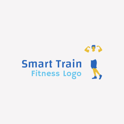 Logo Creator for Fitness a Training Company