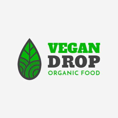Logo Template for an Organic Food Company 1236g--2461