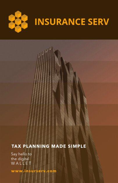 Tax Planning Flyer Template 510b--2