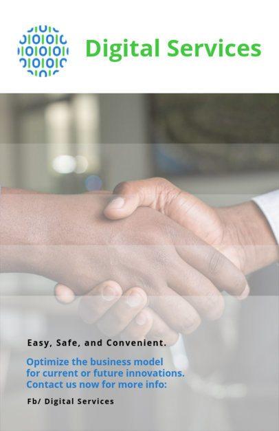 Flyer Maker for Digital Financial Services 510c--2