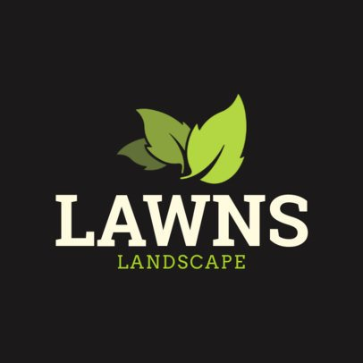 Logo Design Template with Nature Elements 1422g-2462