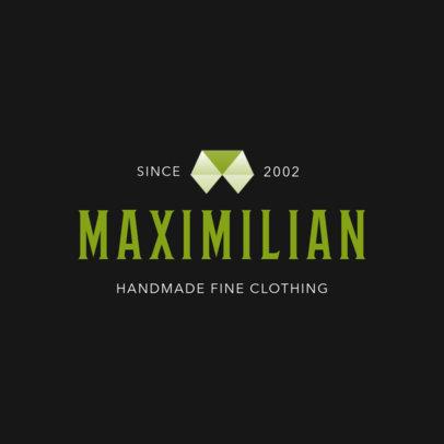 Abstract Logo Maker for Handmade Clothing Brands 1329f-2463